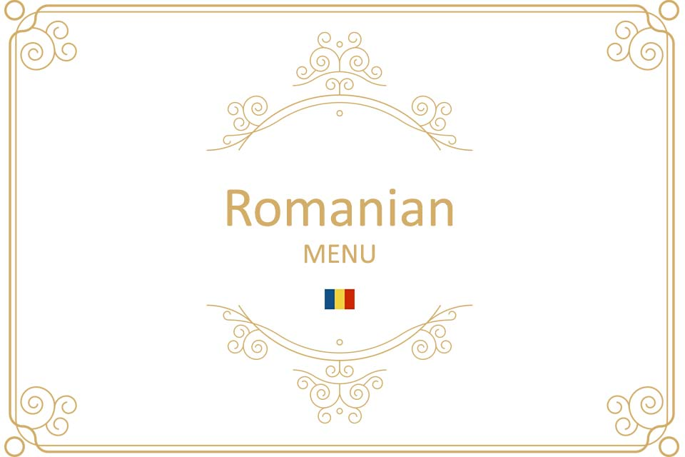 Romanian Menu
